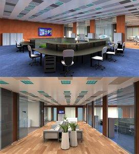 3D 3d-scenes - office 03