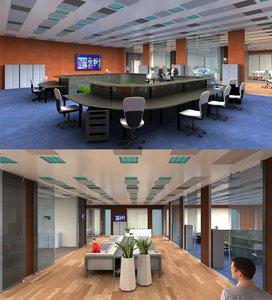 3d-scenes - office 03 3D model