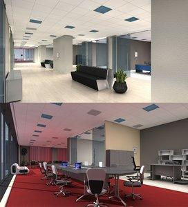 3d-scenes - office 04 model