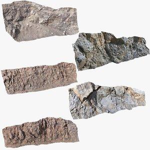 3D walls cliff