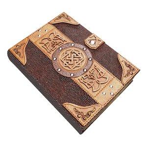 3D vintage magic book model