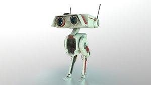 3D droid db-1