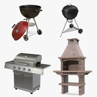 Grills 3D Models Collection 3