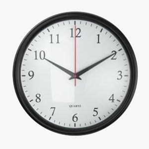 wall 01 clock model