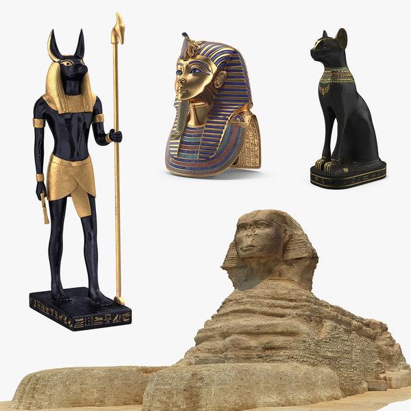 egypt 2 3D model