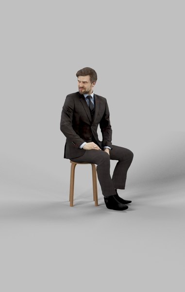 character people 3D model