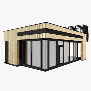 3D small pavilion