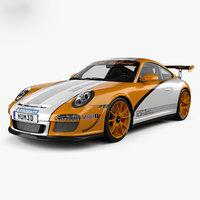 porsche 911 rs 3D model