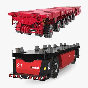 3D modular transporters ports