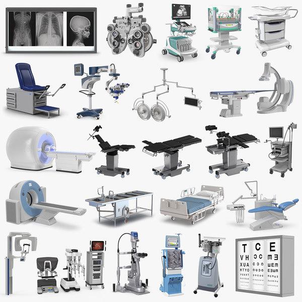 medical equipment 3 3D