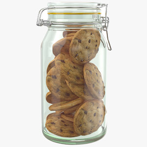 real cookies jar 3D model