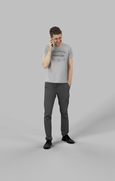3D character casual