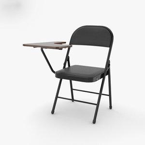 study chair 3D model