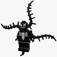 3D model lego venom