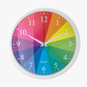 3D wall 02 clock