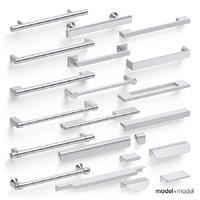 3D model pull handles