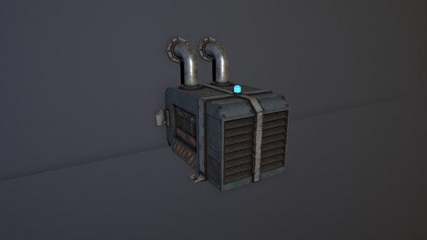 sc-fi mixer 01 3D