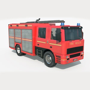 truck rescue machine - model