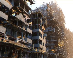 3D city apocalypse model