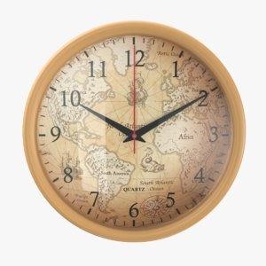 wall 03 clock 3D model