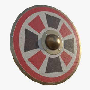 3D model parma shield