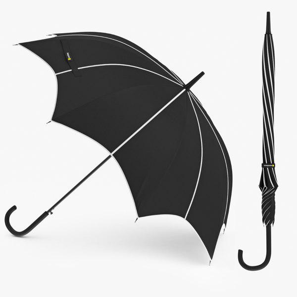 umbrella parasol fashion 3D