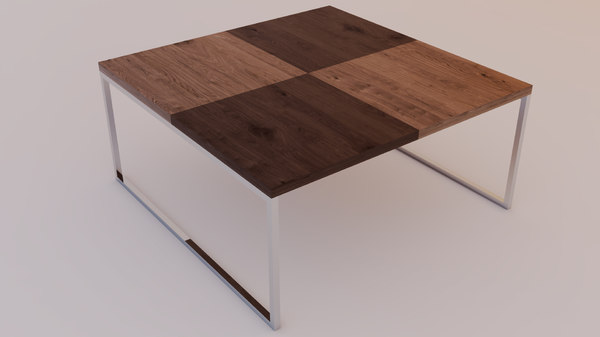 3D coffee-tables natural-stone model