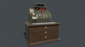 pbr old cash register model