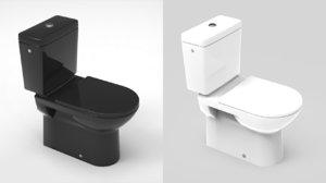3D water closet wc