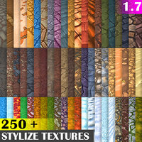 Hand Painted Textures Mega Bundle 250+