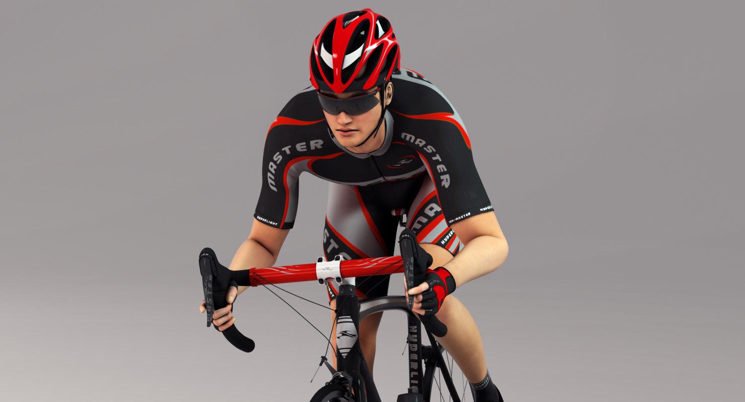 3D cycle bike sport