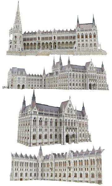 3D palace budapest scan hd