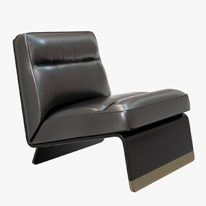 3D greta draga aurel armchair model