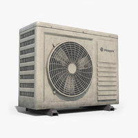 3D ready air conditioner model