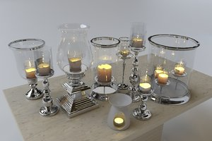 hurricane candle lanterns model