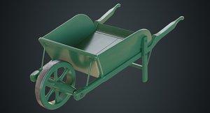wheelbarrow 4a 3D model