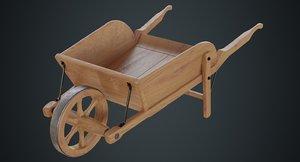 wheelbarrow 4c 3D
