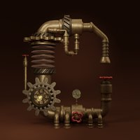 pipes c 3D
