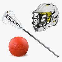 3D lacrosse equipment