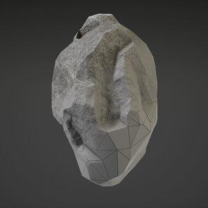 3D stone -