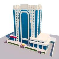 building public doha 3D