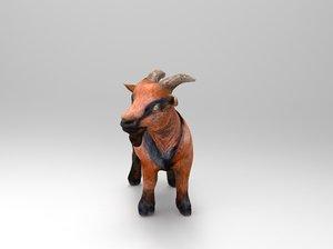 mammal nature livestock 3D model