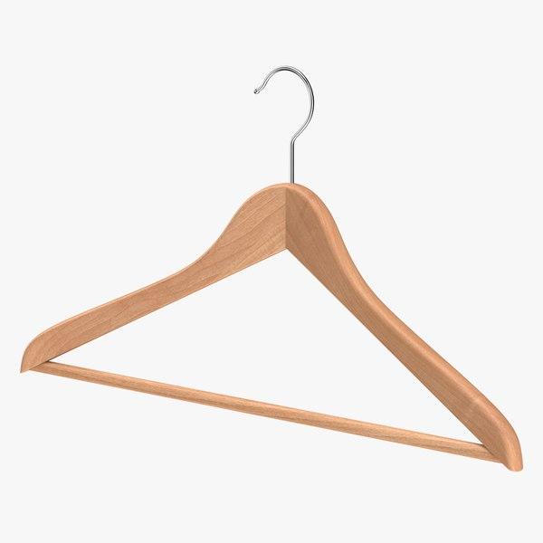 realistic clothes hanger 3D
