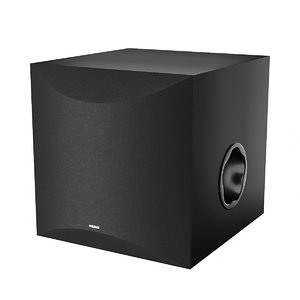 3D yamaha subwoofer woofer model