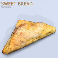 sweet bread 3D model