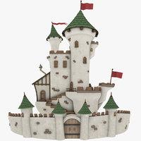 Stylized Castle - PBR