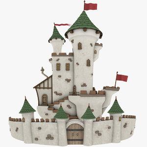 stylized castle - model