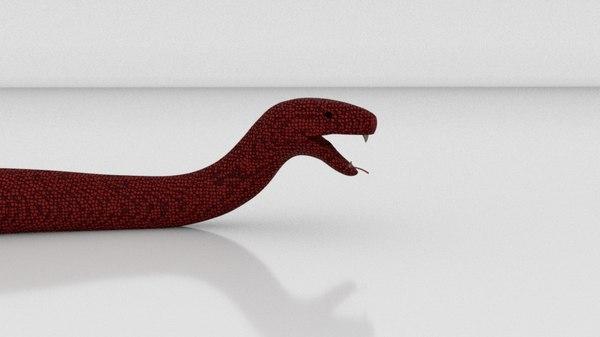 snake set 3D