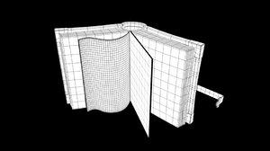 3D sheets book