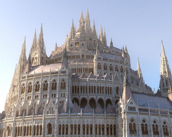 3D mega castle model